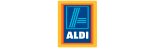 corporate signage for aldi