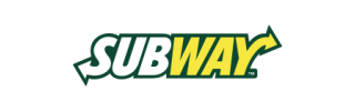 corporate signage for subway